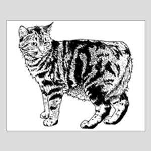 Manx Cat Small Poster