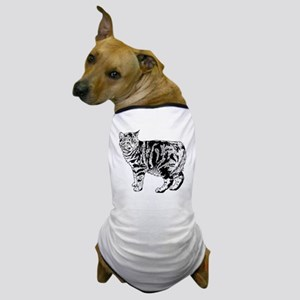 Manx Cat Dog T-Shirt