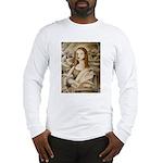 Cubist Mona Lisa Long Sleeve T-Shirt