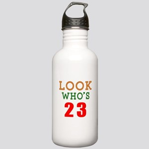 Look Who's 23 Birthday Stainless Water Bottle 1.0L