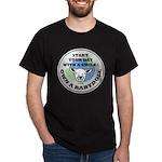 NABSSAR Smiling Babydoll Dark T-Shirt