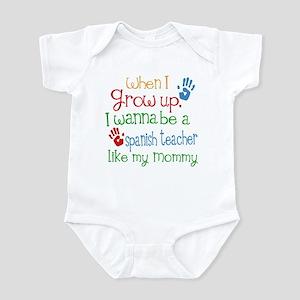 Spanish Teacher Like Mommy Infant Bodysuit