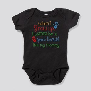 Speech Therapist Like Mommy Baby Bodysuit