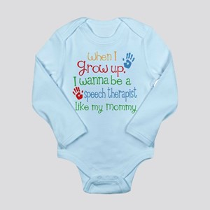 Speech Therapist Like Long Sleeve Infant Bodysuit
