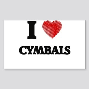 I love Cymbals Sticker