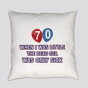 70 year old dead sea designs Everyday Pillow