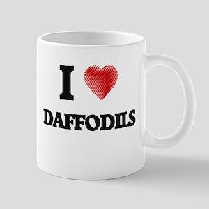 I love Daffodils Mugs