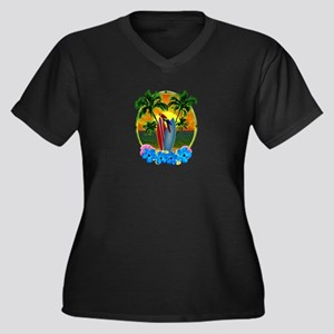 Tropical SunsetTropical Sunset Plus Size T-Shirt