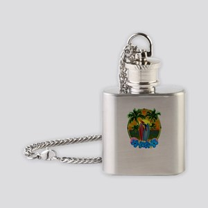 Tropical SunsetTropical Sunset Flask Necklace
