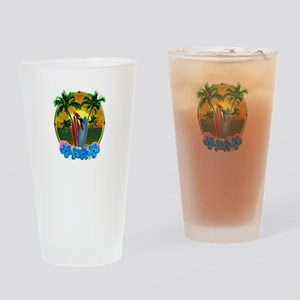 Tropical SunsetTropical Sunset Drinking Glass