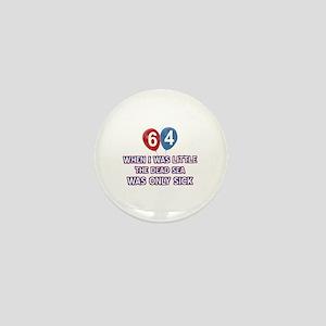 64 year old dead sea designs Mini Button
