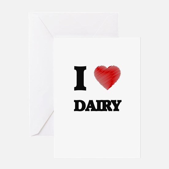 I love Dairy Greeting Cards