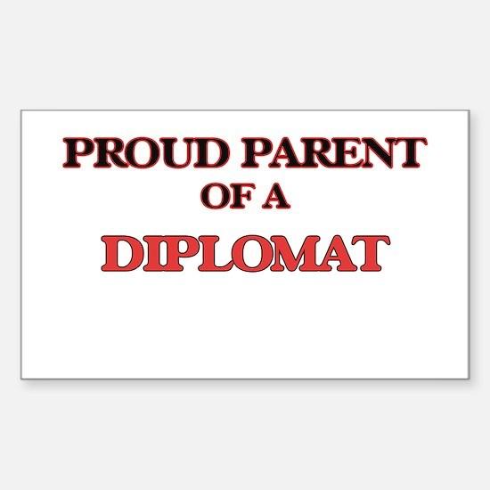 Proud Parent of a Diplomat Decal