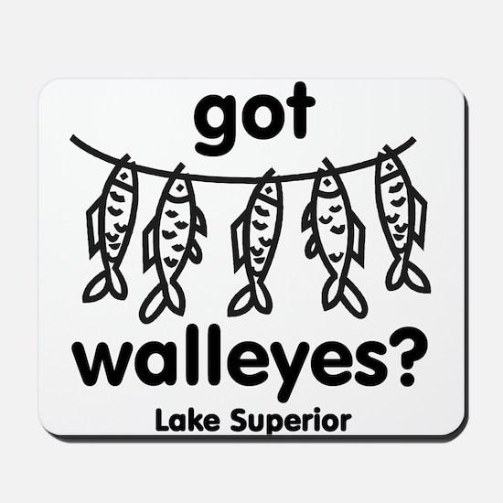 Walleyes? Mousepad