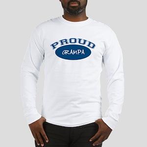Proud Grampa (blue) Long Sleeve T-Shirt