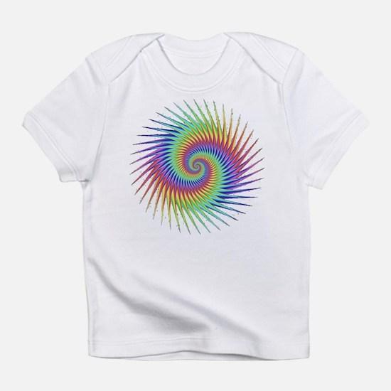 Fractal Optical Illusion Dizzy Infant T-Shirt