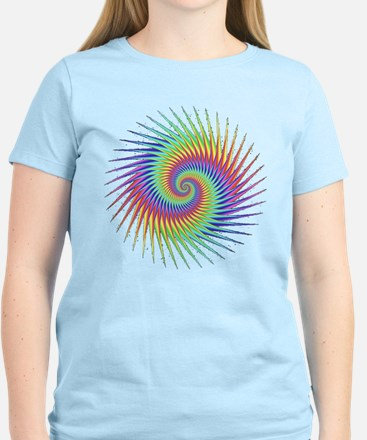 Fractal Optical Illusion Dizzy T-Shirt