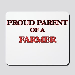 Proud Parent of a Farmer Mousepad