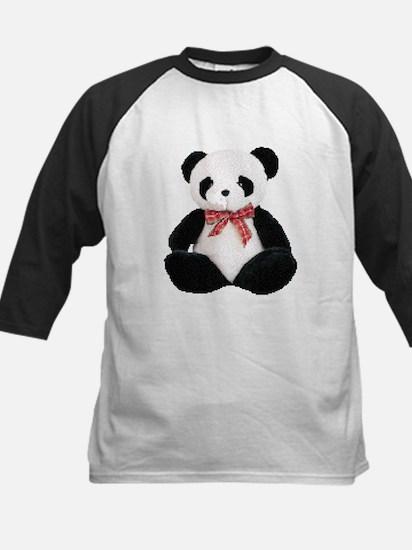 Cute Stuffed Panda Kids Baseball Jersey