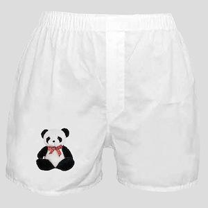 Cute Stuffed Panda Boxer Shorts