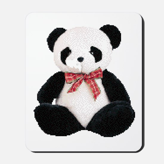 Cute Stuffed Panda Mousepad