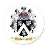 Reininga Round Car Magnet
