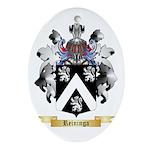 Reininga Oval Ornament