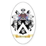 Reining Sticker (Oval)