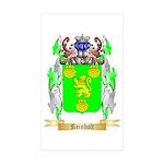 Reinholt Sticker (Rectangle 50 pk)