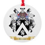 Reines Round Ornament