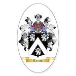 Reines Sticker (Oval)