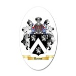 Reines 20x12 Oval Wall Decal