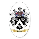 Reinen Sticker (Oval 50 pk)
