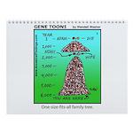 13 Different Gene Toons Wall Calendar
