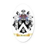 Reine Oval Car Magnet