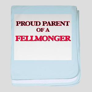 Proud Parent of a Fellmonger baby blanket