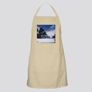 hipster mountain simplicity typography Apron