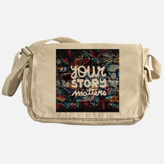 Cute Inspiring Messenger Bag