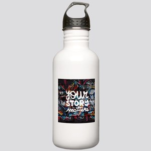 your story matters gra Stainless Water Bottle 1.0L