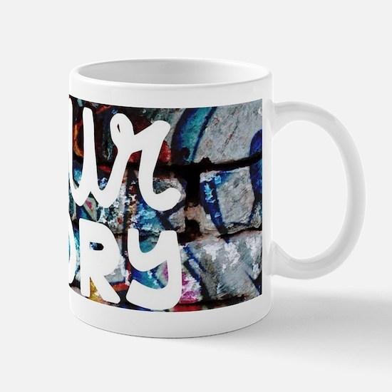 your story matters graffiti hip hop Mugs