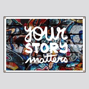 your story matters graffiti hip hop Banner