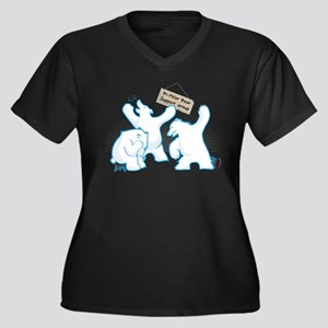 bipolar_bear Plus Size T-Shirt