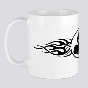 Sprint Car Flames Mug