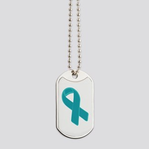 Prostate Cancer Ribbon Dog Tags