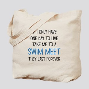 SWIM MEET Tote Bag