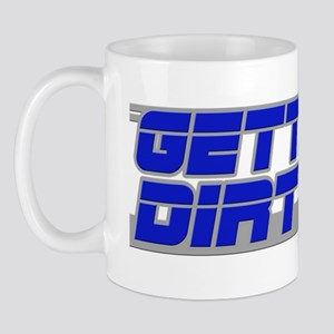 Gettin Dirty Blue/Grey Mug
