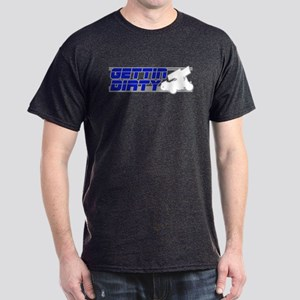 Gettin Dirty Blue/Grey Dark T-Shirt