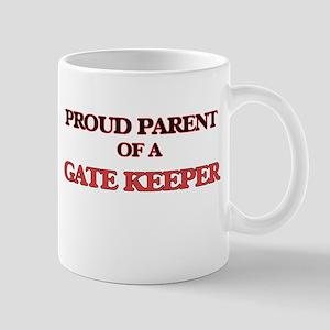 Proud Parent of a Gate Keeper Mugs