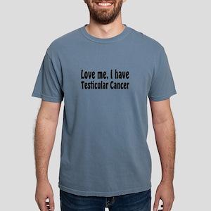 Testicular Cancer Mens Comfort Colors Shirt