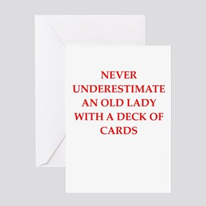 Funny old lady greeting cards cafepress old lady greeting cards m4hsunfo